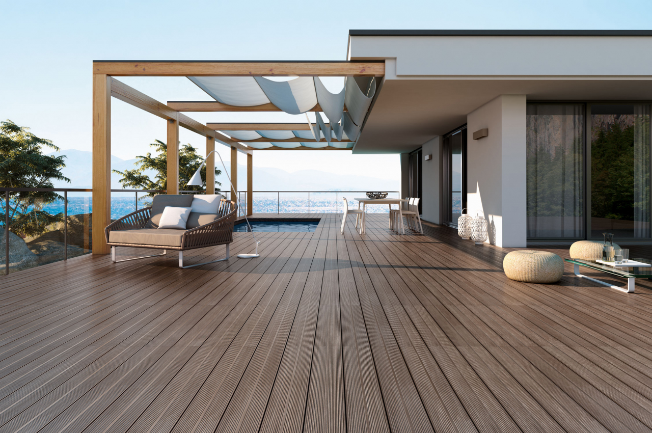 Imagine deck for Carrelage facon parquet