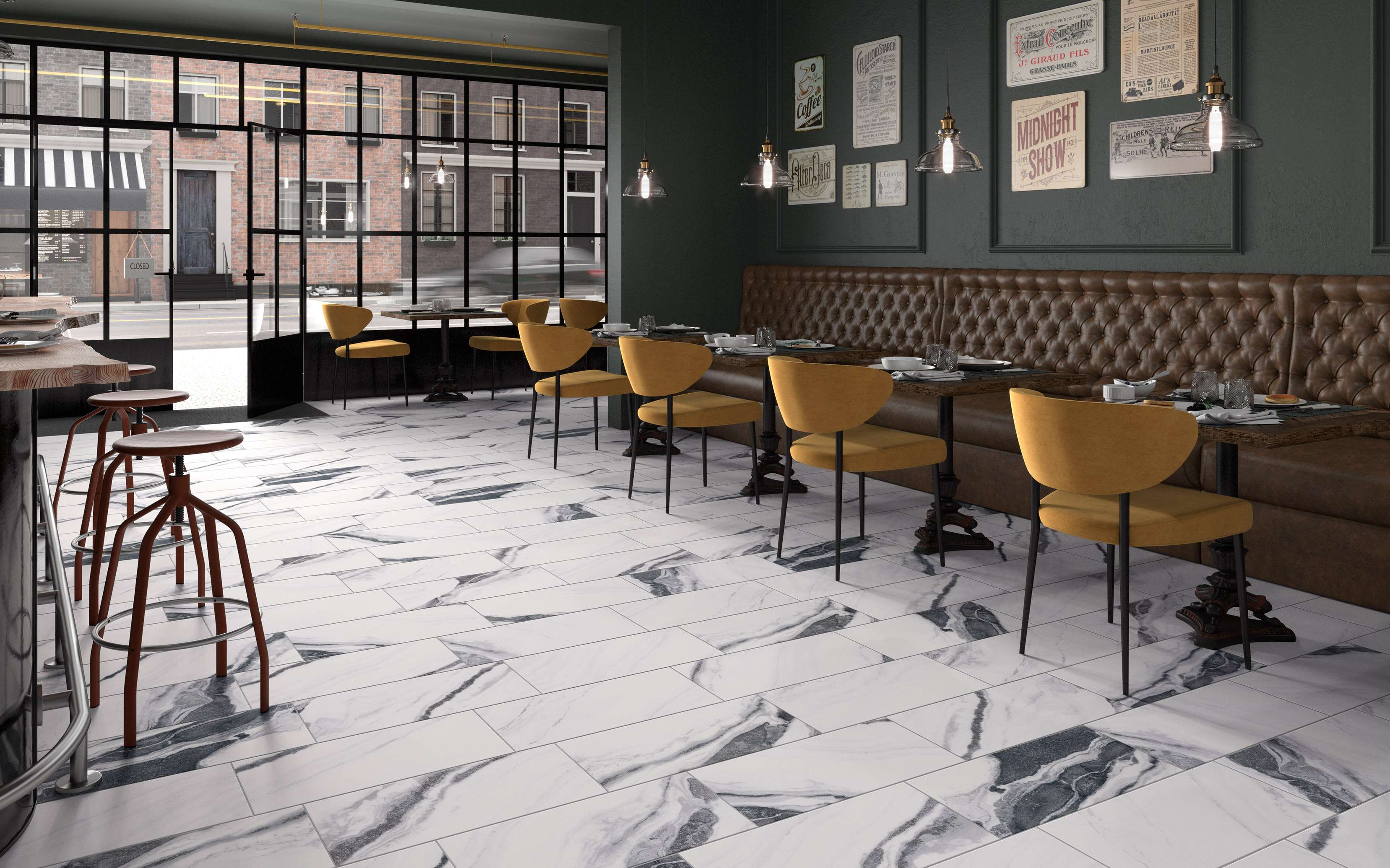 MARBLE PERFECTION THROUGH THE CERAMIC SURFACE
